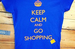 magliette personalizzate brescia keep calm and go shopping