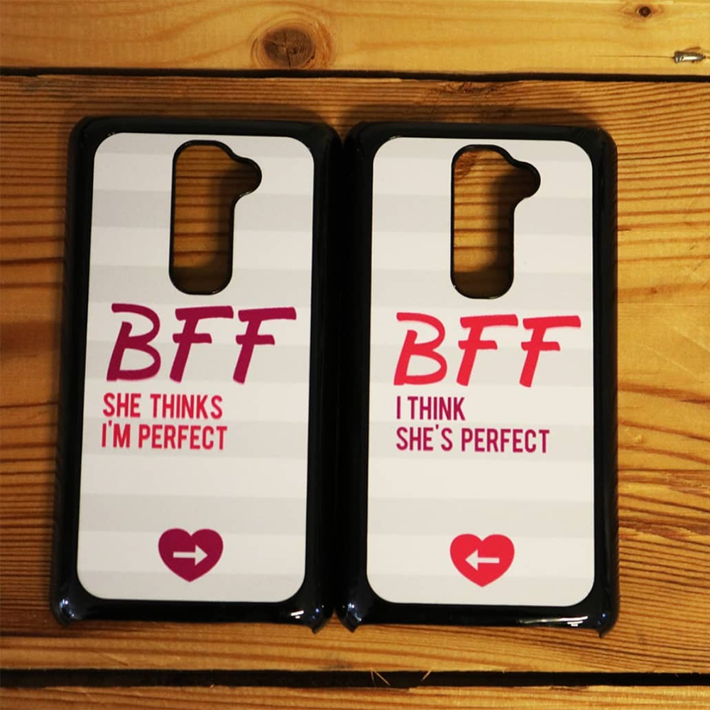 new product 91ae7 7b48a Cover per smartphone Best Friends Forever - Zona Creativa